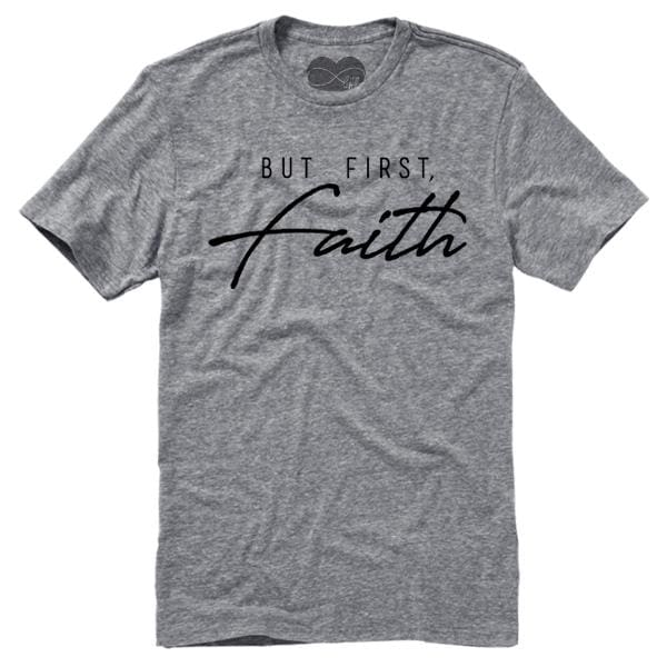 Faith T-Shirt BFF But First christian faith god