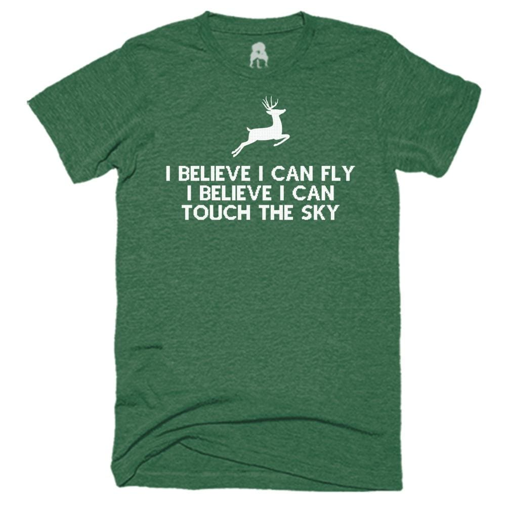 I Can Fly T-Shirt 90 s 90s Black christmas Green One Messy Bun