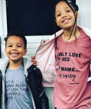 I‰۪m Sorry (Kids) Kids T-Shirt bed, boy, drake, drizzy, girl One Messy Bun