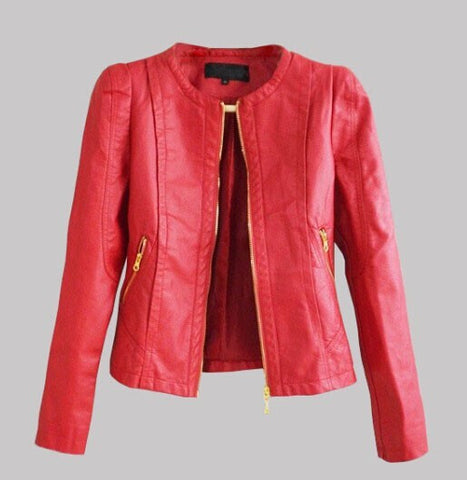 ladies genuine leather jacket. leather jacket for women