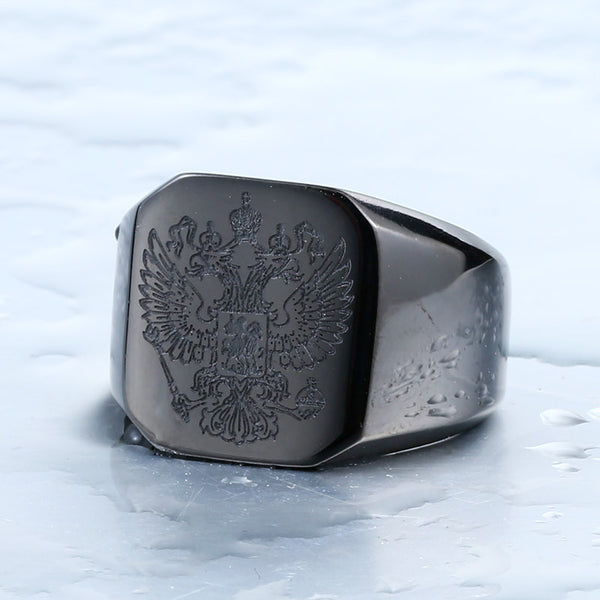 Russian Coat of Arms Ring