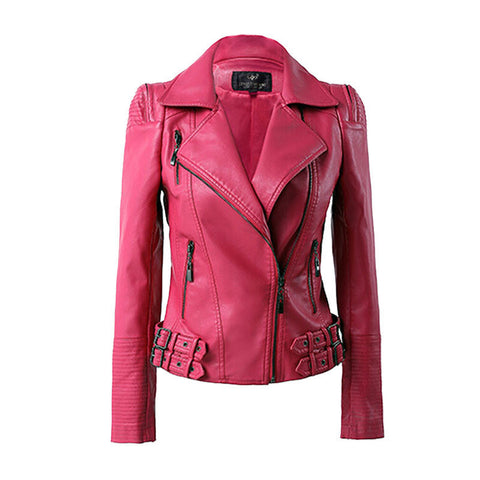 genuine leather jacket for ladies. women's leather jacket