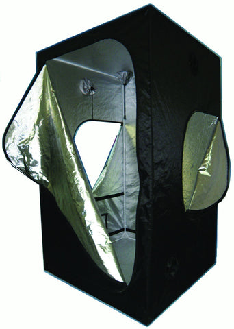 "Grow Tent 48"" x 48"" x 78"" Silver- lined / Oxford outer Metal Frame"
