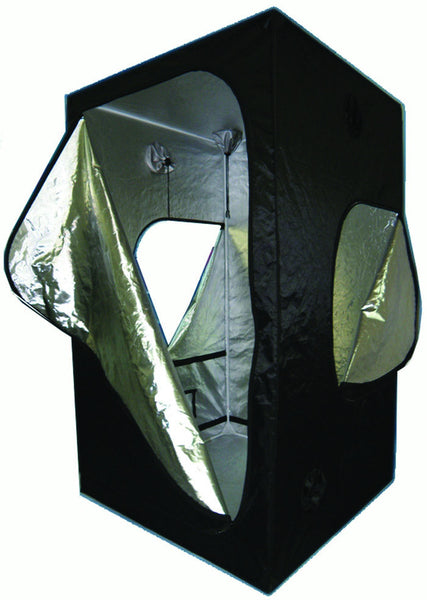 "Grow Tent 48"" X 96"" X 78"" Sliver-lined/ Oxford outer Metal Frame"