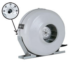 Thermostatically Controlled Centrifugal Fans