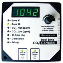 CO2D: 0-5000 ppm Dual Zone CO2 Controller