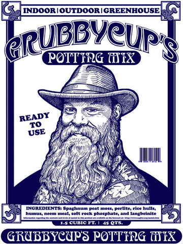 Grubbycup's Potting Mix 1.5 cubic ft. bags