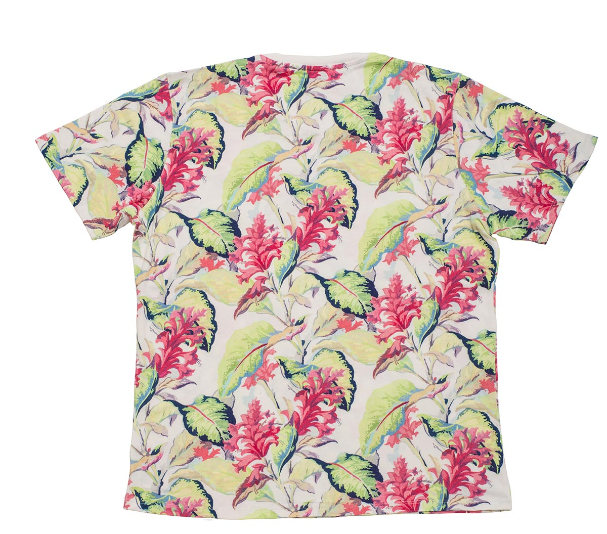 Florence Floral Unisex Pure Cotton Short Sleeve T-shirt
