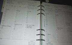 diary example organising your time planning