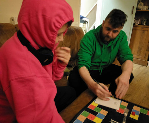 family autism aspergers board games