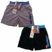 Boys Black Grey Spiderman Shorts cotton ages 3 4 6 8 summer play holiday - supercoolgifts