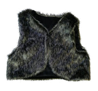 Girls Waistcoat Faux Fur Gillet age 18/24m 2/3 3/4 4/5 yrs