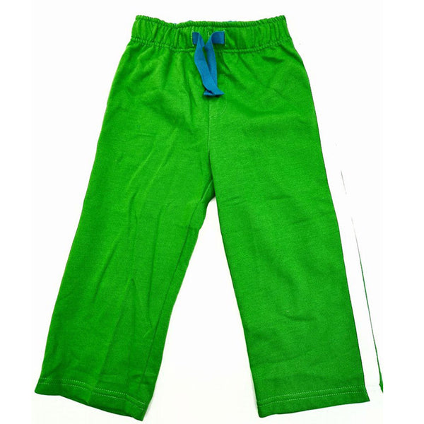 Boys Green Tracksuit Bottoms Jogging age 18/24m 2-6 yr school sports play cotton