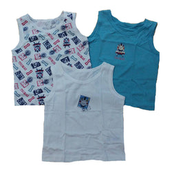 Boys 3 Pack Thomas the Tank Engine Vests  age 2-6 yrs Train