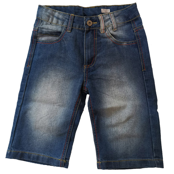 Denim Shorts Adjustable Waist age 8-14 yrs