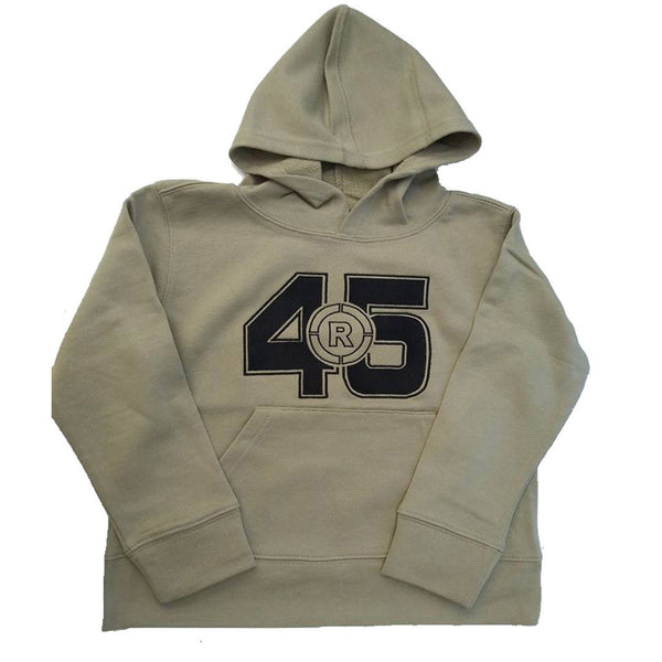 Boys 100% Cotton Hoodie Stone Khaki age 8 Hood Kangaroo Pocket Jumper Sweater