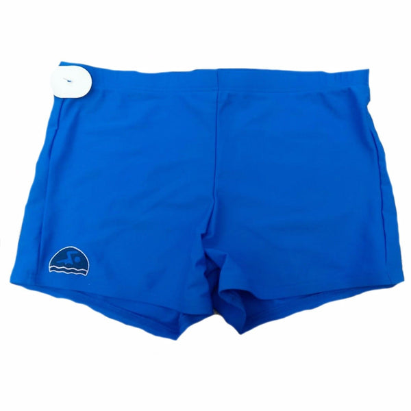 Mens Boys Blue Swimwear Swimming Swim Shorts Tight Trunks S M L XL XXL