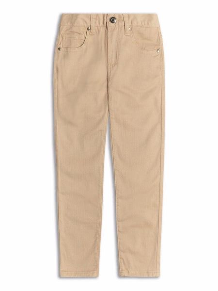 Boys beige chinos jeans 2-8 yrs regular fit slim fit - supercoolgifts