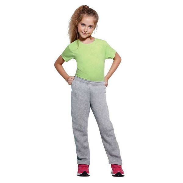 Unisex Boys Girls Navy Blue Grey Tracksuit Bottoms Jogging age 2-10 joggers