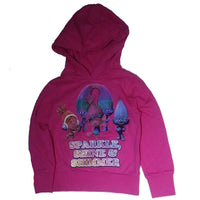 Girls Trolls Hoodie Jumper sweater age 3-4 5-6 7-8