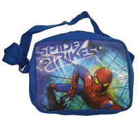 Spiderman Spider Strike Satchel Bag School Blue Book Messenger Shoulder Bag