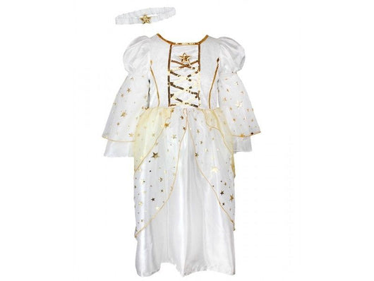 Girls Angel Nativity Dressing up COSTUME Fancy dress age 9/12 m 1 2 3 4 yrs