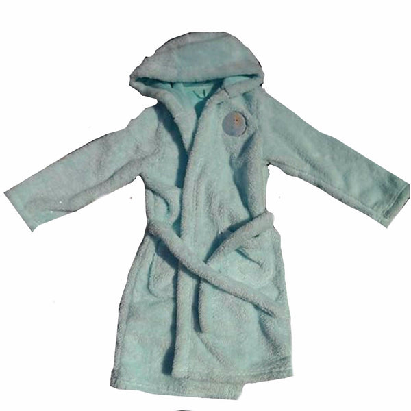 Boys Girls Ex M&S Dressing Gowns Robes Soft Dragon 1 2 3 4 5 6 7 8 9 10 Elsa - supercoolgifts