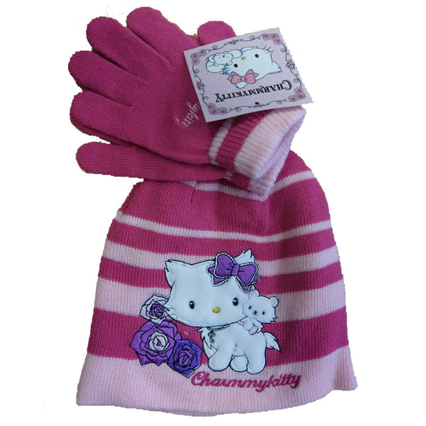 Boys Girls Baby Thomas Tinkerbell Peppa Spongebob age 2-8 mittens gloves hat