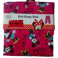 Little Mix Girls Minnie Mouse lounge pants 7-13 pjs monster - supercoolgifts