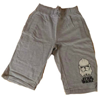Boys Star Wars Shorts Black Grey age 7-16 Holiday Storm trooper Sith