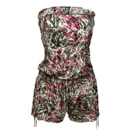 Ladies Playsuit Short Jumpsuit all in one 6 8 10 12 14 16