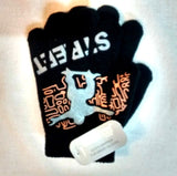 New boys girls kids magic gripper gloves all ages pink black white - supercoolgifts