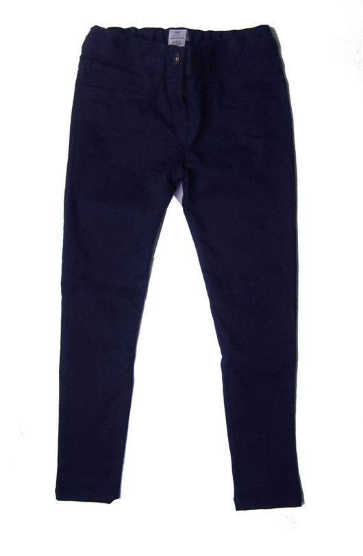 Girls Navy Skinny Chinos Trousers Jeans age 5 6 7 10 11 12 13 14