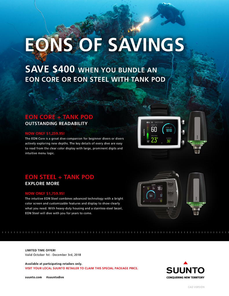 Exciting New Suunto Promos!