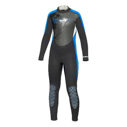 Bare Kids 3/2 Manta Full Youth Wetsuit