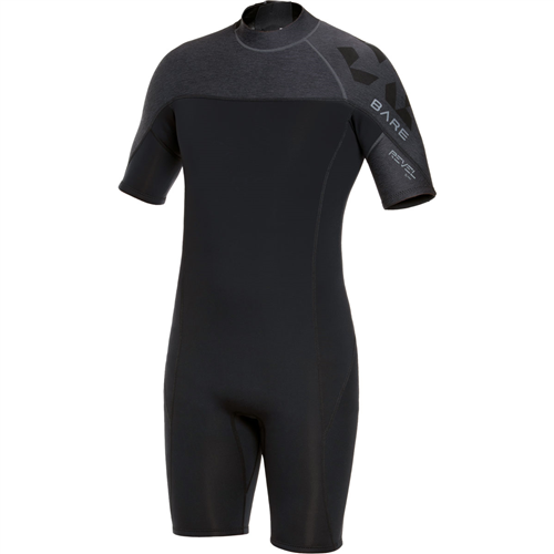 Bare Men's Revel Shorty 2MM Wetsuit
