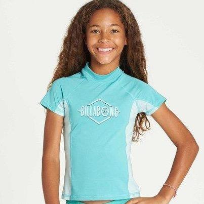 Billabong Girls Surf Dayz Short Sleeve Rashguard