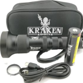 Kraken NR-1500 ZOOM Dive Light
