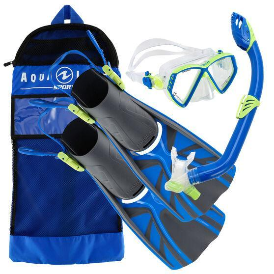 Aqua Lung Cub Junior Mask/Snorkel/Fin Set
