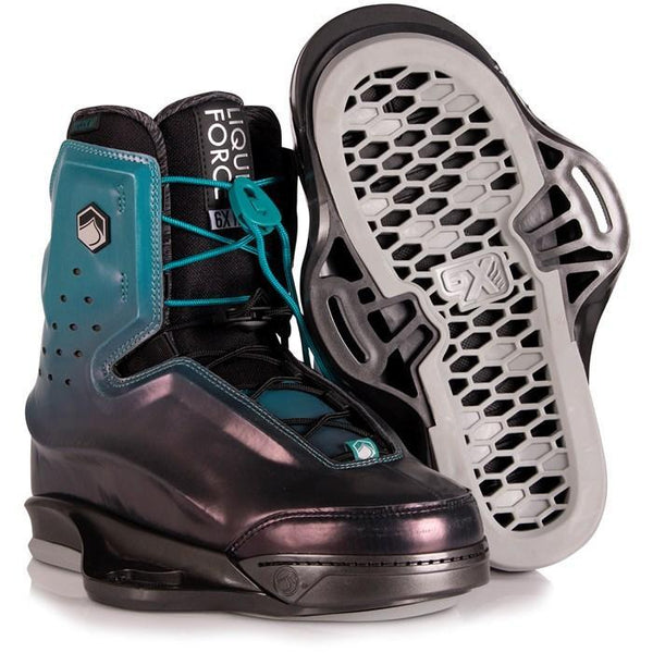 2020 Liquid Force Riot 6X Wake Boots Size 10-11