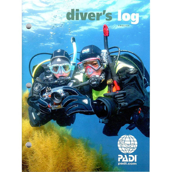 PADI Divers Log Book (English)