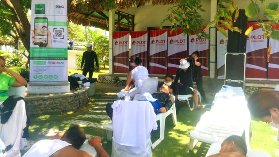 "PLDT ""Track Day Event 2018"" together with Spasify: Massage and Spa On-Demand in Subic Bay, Philippines"