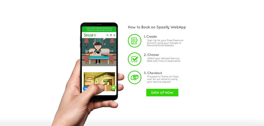 What is Spasify: Massage and Spa On-Demand?