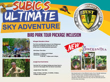 Load image into Gallery viewer, Jest Camp Tour at Magaul Bird Park (Subic Bay, SBFZ, Olongapo City)