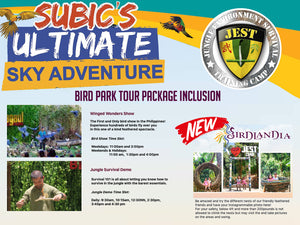 Jest Camp Tour at Magaul Bird Park (Subic Bay, SBFZ, Olongapo City)