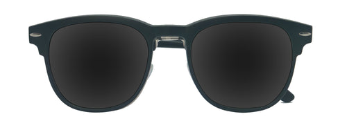 Optical Frame with Removable Polarized Clip-On
