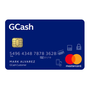 Spasify GCash Mastercard (P4) With Globe Sim Card, Internal Use Only
