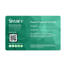 Load image into Gallery viewer, Spasify Diamond Prepaid Cards