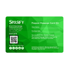 Load image into Gallery viewer, Spasify Emerald Prepaid Cards