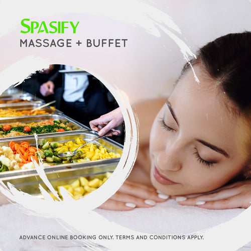 Massage + Buffet (Individual)